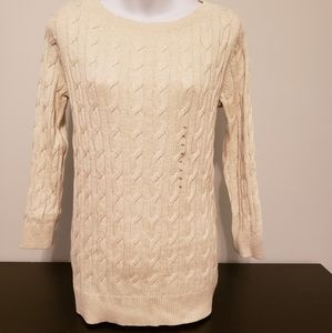 NWT Loft Cable Knit Sweater